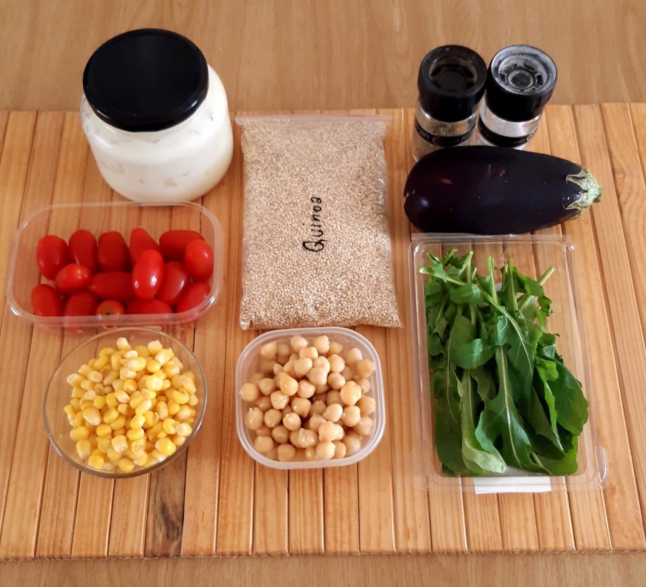 1 Chickpea Salad Ingredients