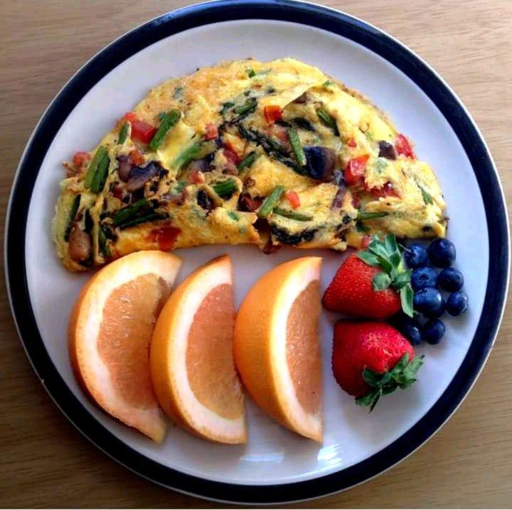 Low Carb Omelette Breakfast